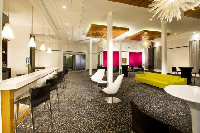 Decorative Wire Mesh Project Aloft Hotel Barroom