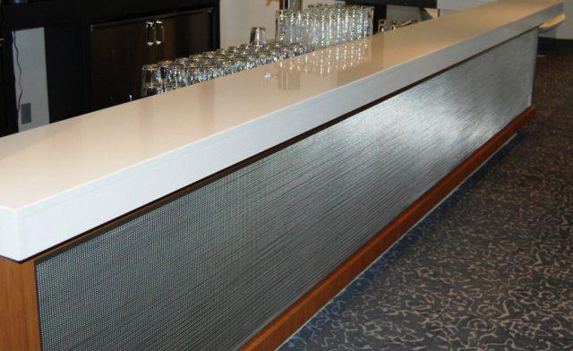 Decorative Wire Mesh Project Aloft Hotel