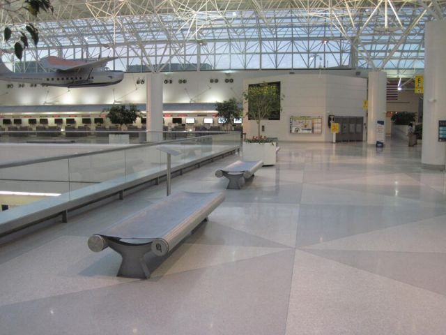 BWI Airport Decorative Wire Mesh