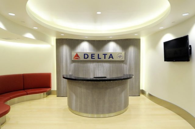 Delta Airlines Lobby Decorative Wire Mesh Project