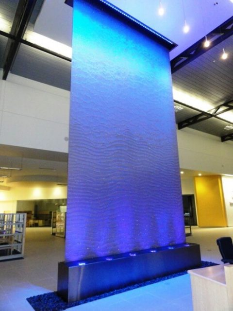 Mercedes-Benz Burlington Bluworld of Water/ Custom Water Feature LED