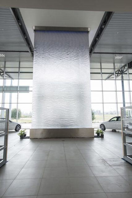 Mercedes-Benz Burlington Bluworld of Water/ Custom Water Feature