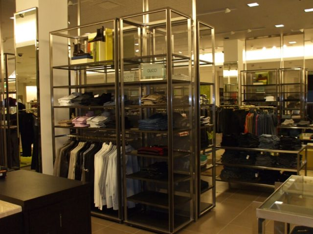 Neiman Marcus Chicago Decorative Wire Mesh Project