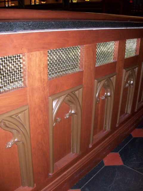 Stainless steel wire mesh church pew