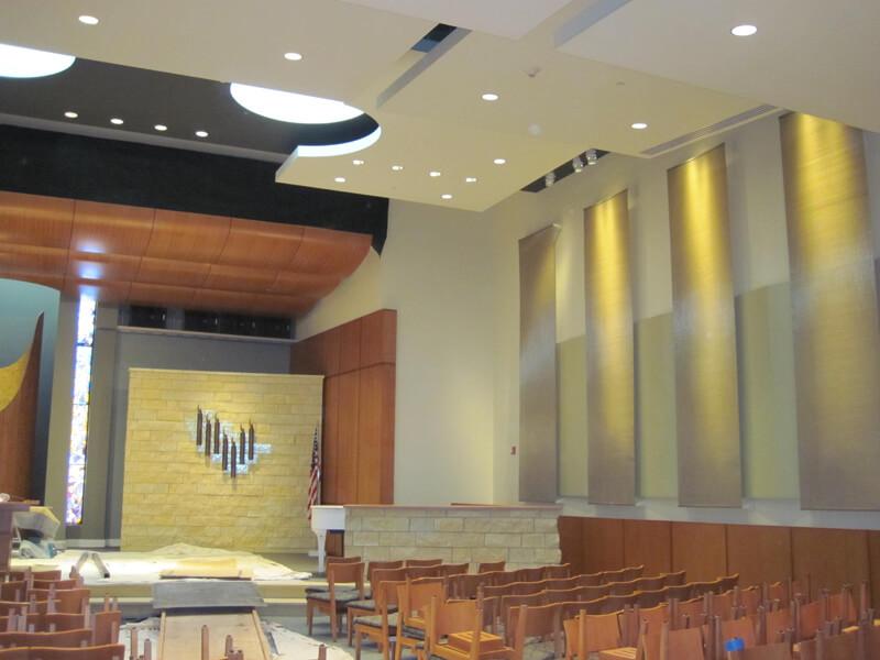 Temple Jeremiah Decorative Wire Mesh Project
