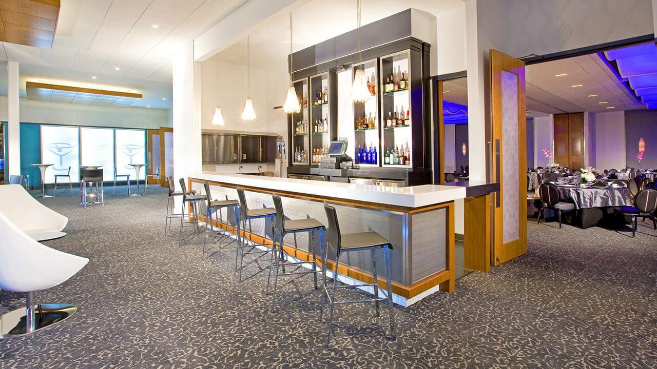 restaurant bar mesh design
