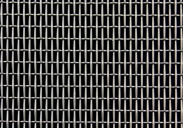 Trefoil Wire Mesh Design