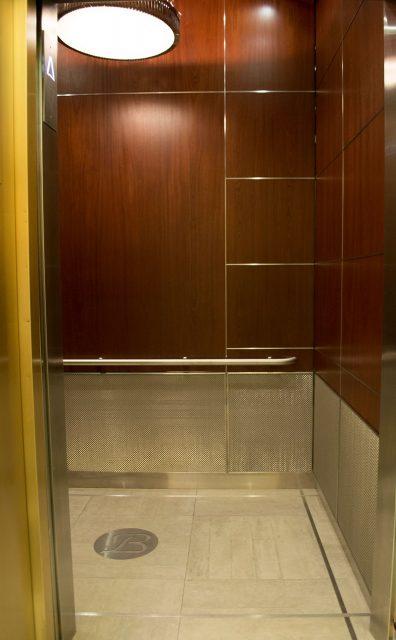 elevator woven wire mesh design