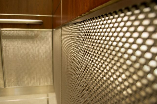 woven wire mesh panels