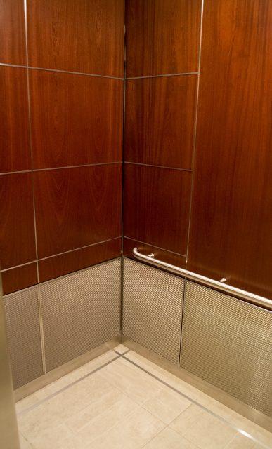 woven wire mesh elevator interior design