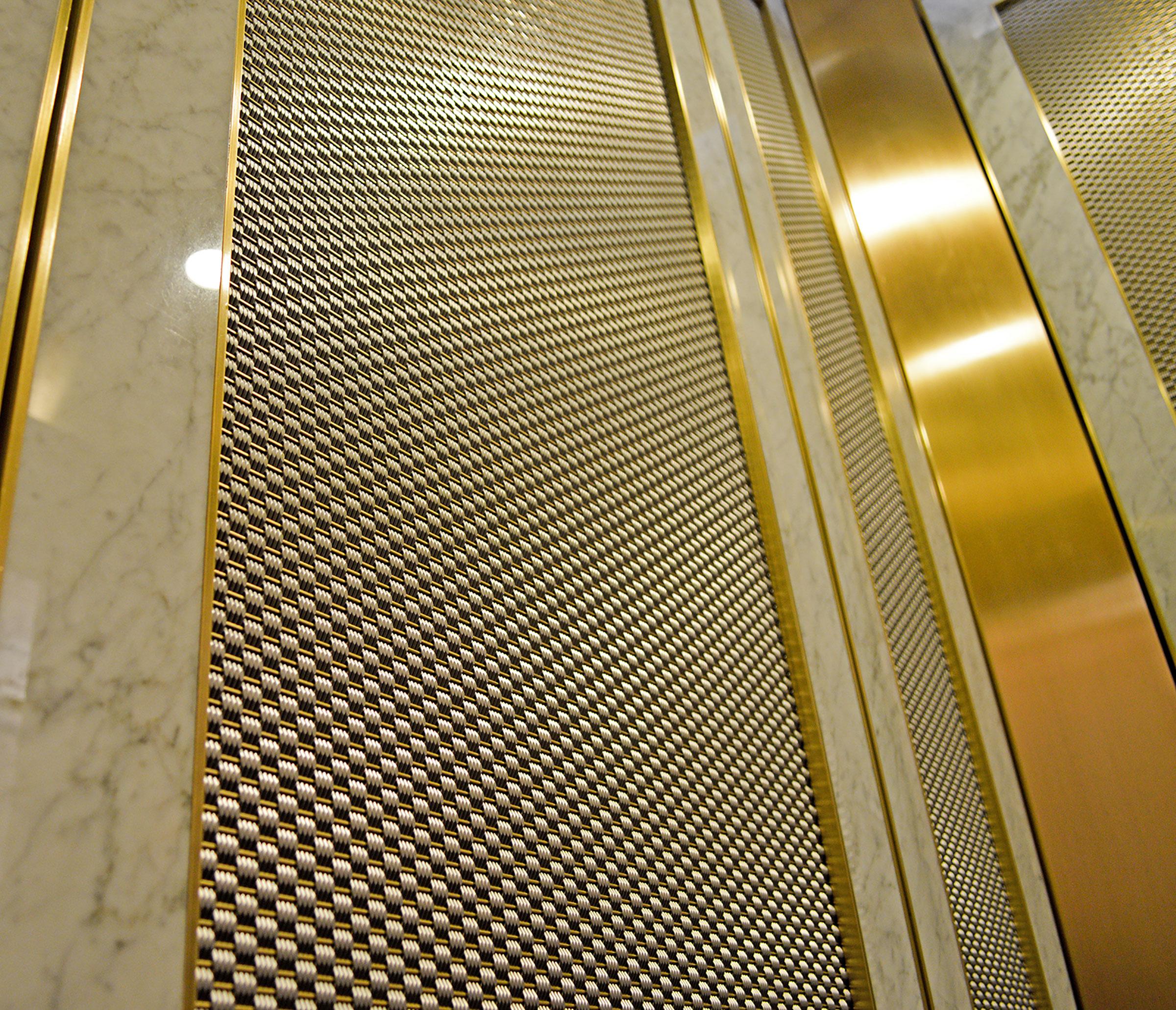 79 5th Avenue New York Decorative Wire Mesh Project