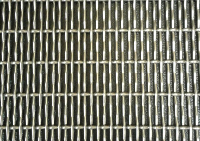 Plaid Wire Mesh Design