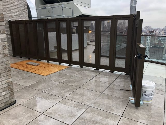 mesh screen door